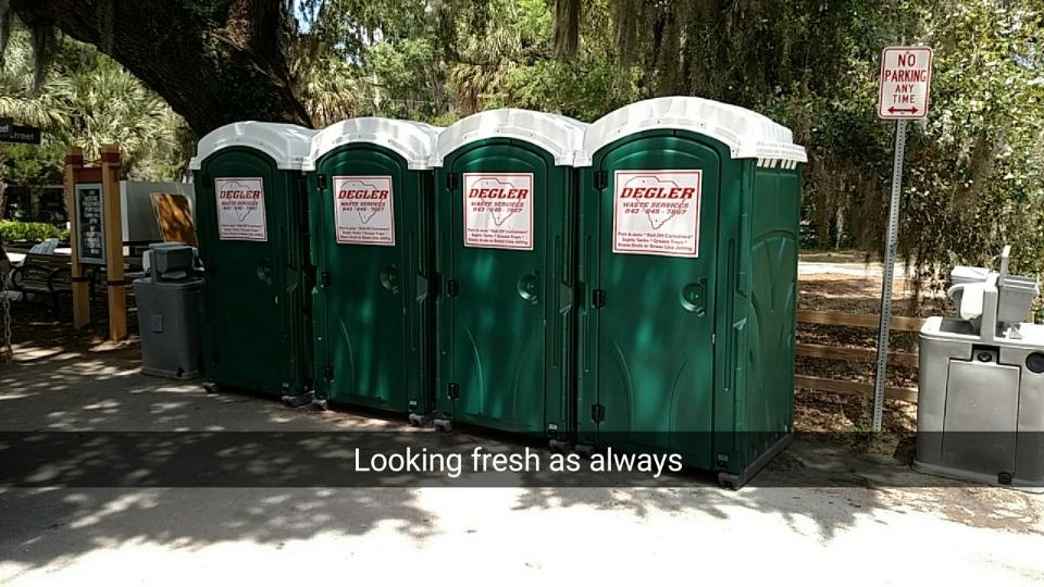 Portable Toilets in Hardeeville, South Carolina