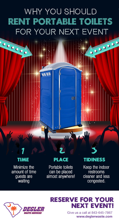 Why You Should Rent Portable Toilets for Your Next Event