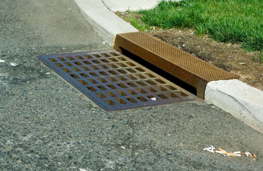 Storm Drains in Beaufort, South Carolina