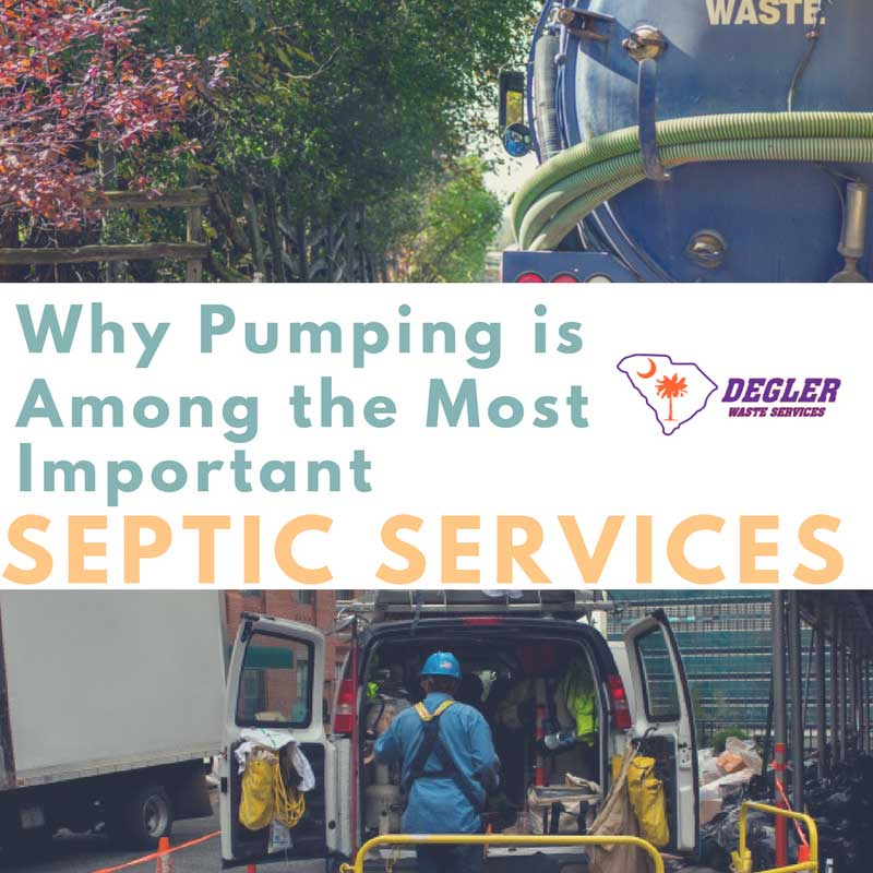 Why Pumping is Among the Most Important Septic Services