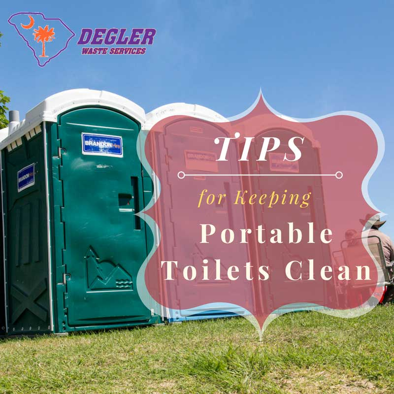 Tips for Keeping Portable Toilets Clean