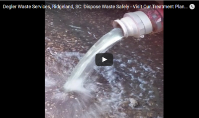 Get Rid of Septic & Toilet Waste – Visit Our Full-Service Treatment Plant in Ridgeland, SC Today!
