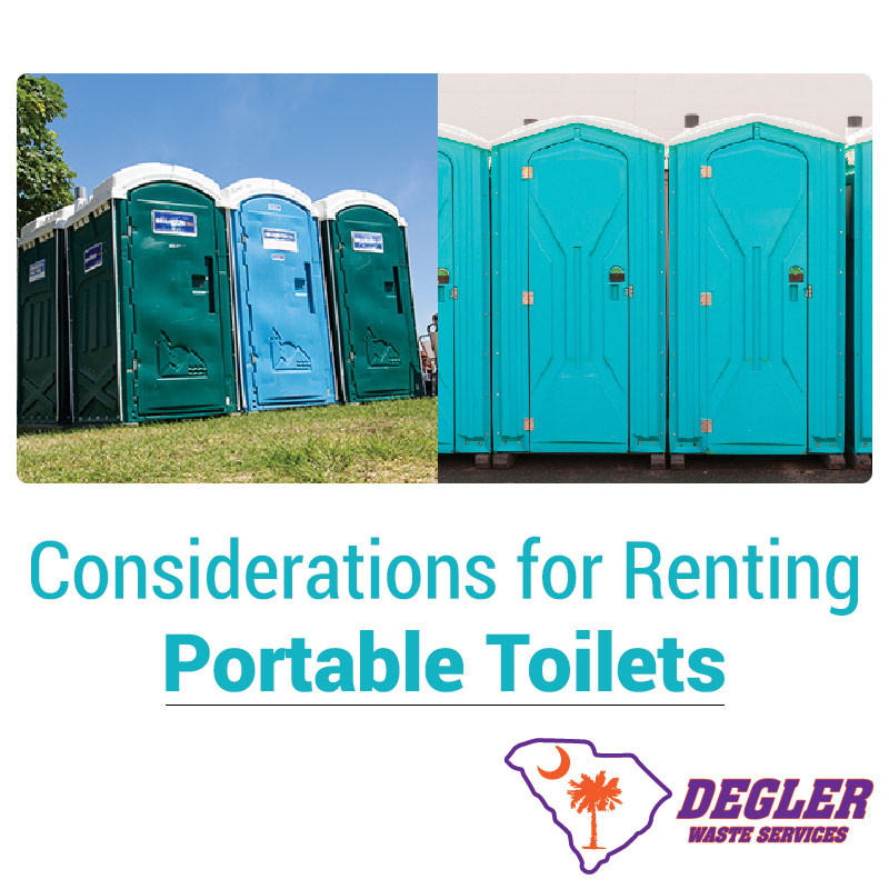 Considerations for Renting Portable Toilets
