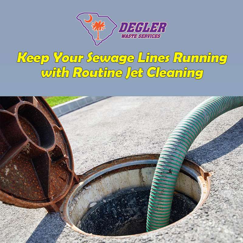 Keep Your Sewage Lines Running with Routine Jet Cleaning