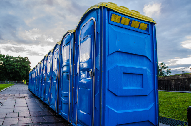 Portable Toilets Can Be Delivered to Any Location