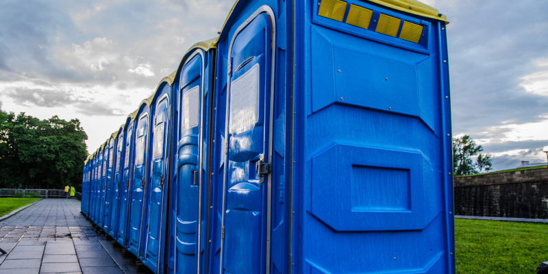 Portable Toilets in Bluffton, South Carolina