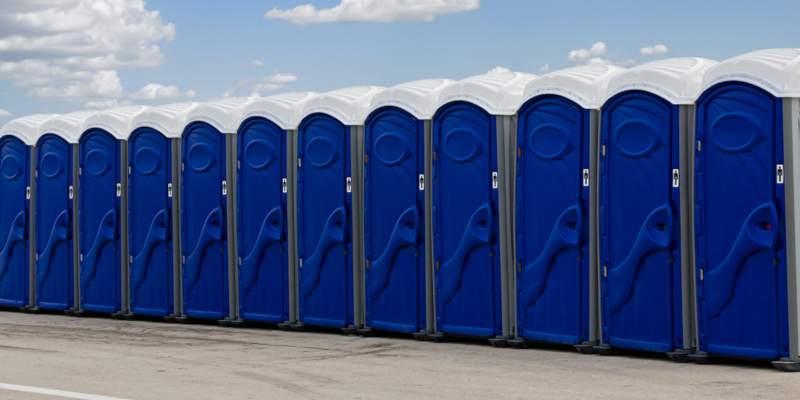 Portable toilets can make or break an event or project
